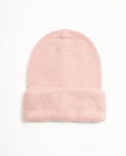 Beanie rose pâle